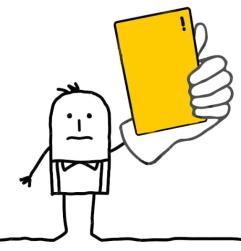 gele kaart