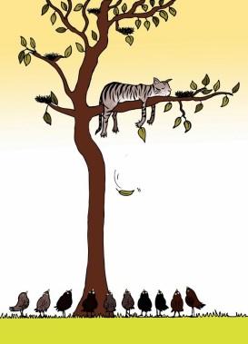 kat-uit-de-boom-kijken