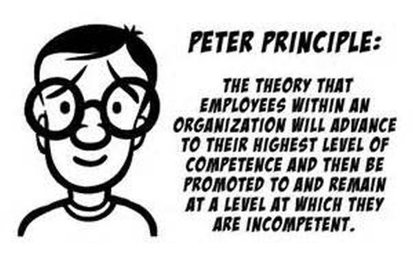 Het Peterprincipe.
