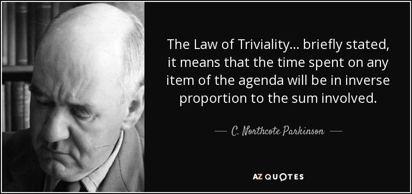 Wet van Parkinson.